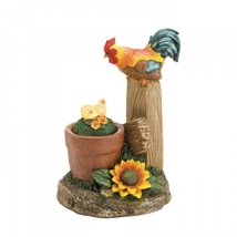 Solar Rotating Rooster Garden Decor - $32.00