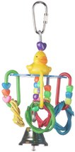 Super Bird Creations 6 by 3-Inch Lucky Ducky Bird Toy, Small - £4.83 GBP