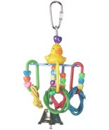 Super Bird Creations 6 by 3-Inch Lucky Ducky Bird Toy, Small - $6.25