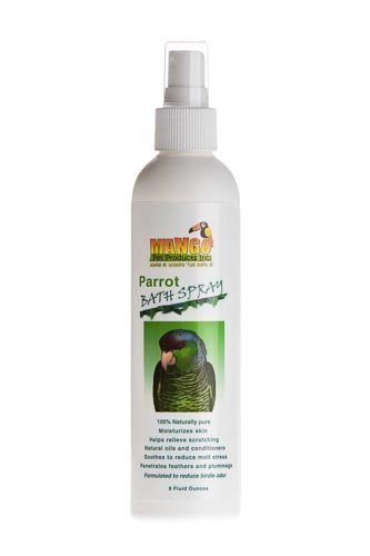 8 Oz Parrot Bath Spray Bird Toy Parts Parrots Bathe Feathers by Jungle Beaks
