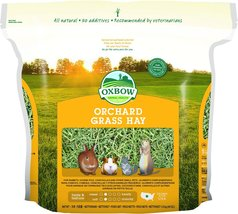 Oxbow Animal Health Orchard Grass Hay for Pets, 40-Ounce - $11.41