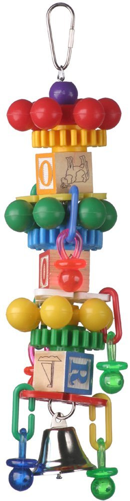 Primary image for Super Bird Creations 14 by 3-Inch Spin Tower Bird Toy, Large