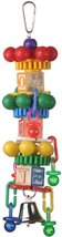 Super Bird Creations 14 by 3-Inch Spin Tower Bird Toy, Large - $16.68 CAD