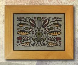 Arranging Lures cross stitch chart Ink Circles  - $6.00