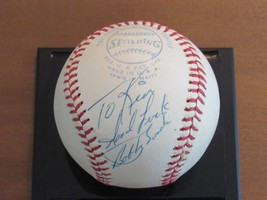 Bobby Bonds Good Luck Yankees Giants Signed Auto Vintage Macphail Baseball Psa - $197.99