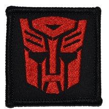 Autobot Emblem 2x2 Military Patch / Morale Patch - Multiple Colors (Black and... - $4.89