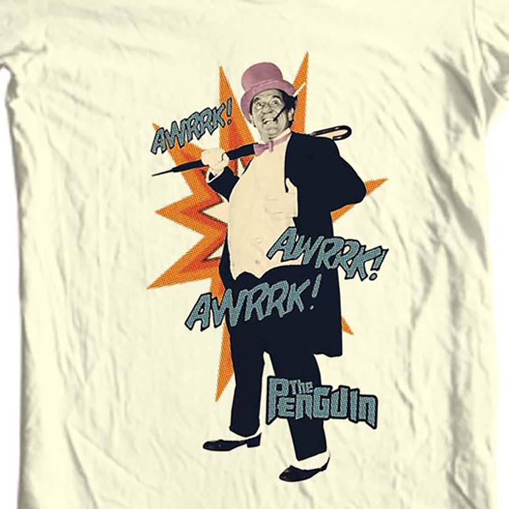 The penguin burgess meredith tan t shirt