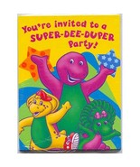 Barney Invitations, 8ct - $9.85