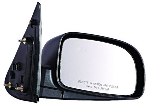 Fits 11-14 Sonata Exc Hybrid Right Pass Mirror Unpainted With Heat No Sig//Blind