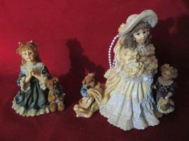 """Yesterday's Child-Dollstone Collection, Emily /Kathleen & Teresa & John"" Figur - $24.99"