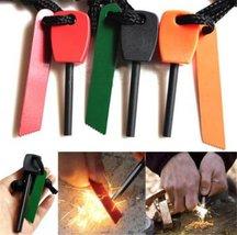 Magnesium Flint Stone Fire Starter Lighter Emergency Survival Camping Tool - ... image 2