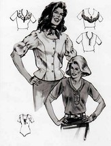 Jean Hardy 1017 Misses Ladies Blouses Top Shirt Sewing Pattern (jeanhard... - $12.00