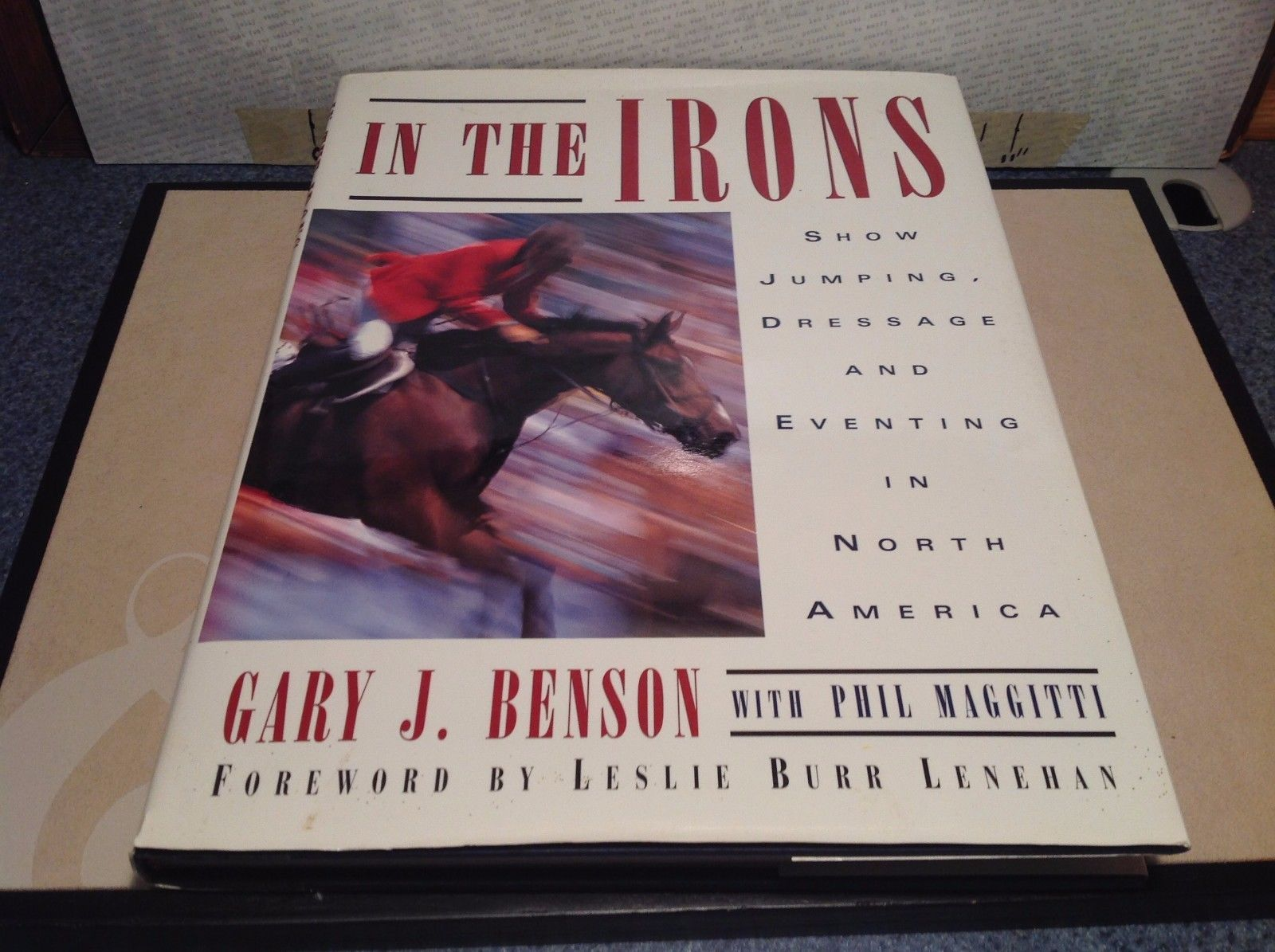 In The Iron Book by Gary J Benson