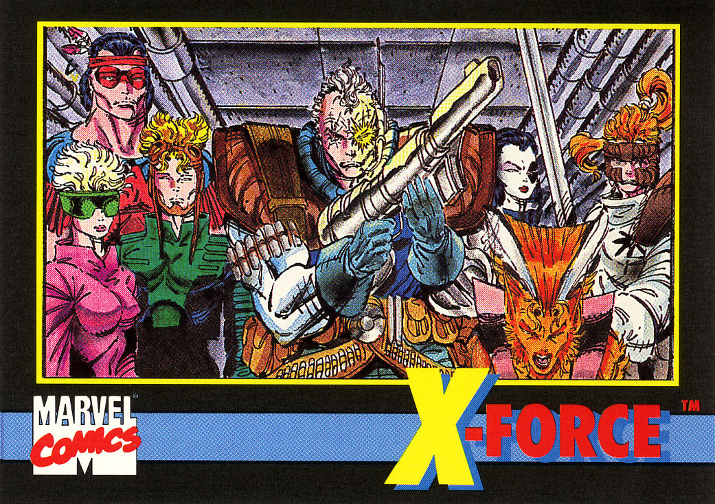 Marvel Universe Series 2 Promo Card #5 - X-Force