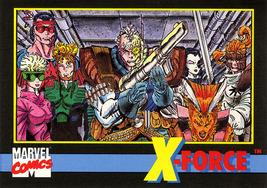 Marvel Universe Series 2 Promo Card #5 - X-Force - $7.89