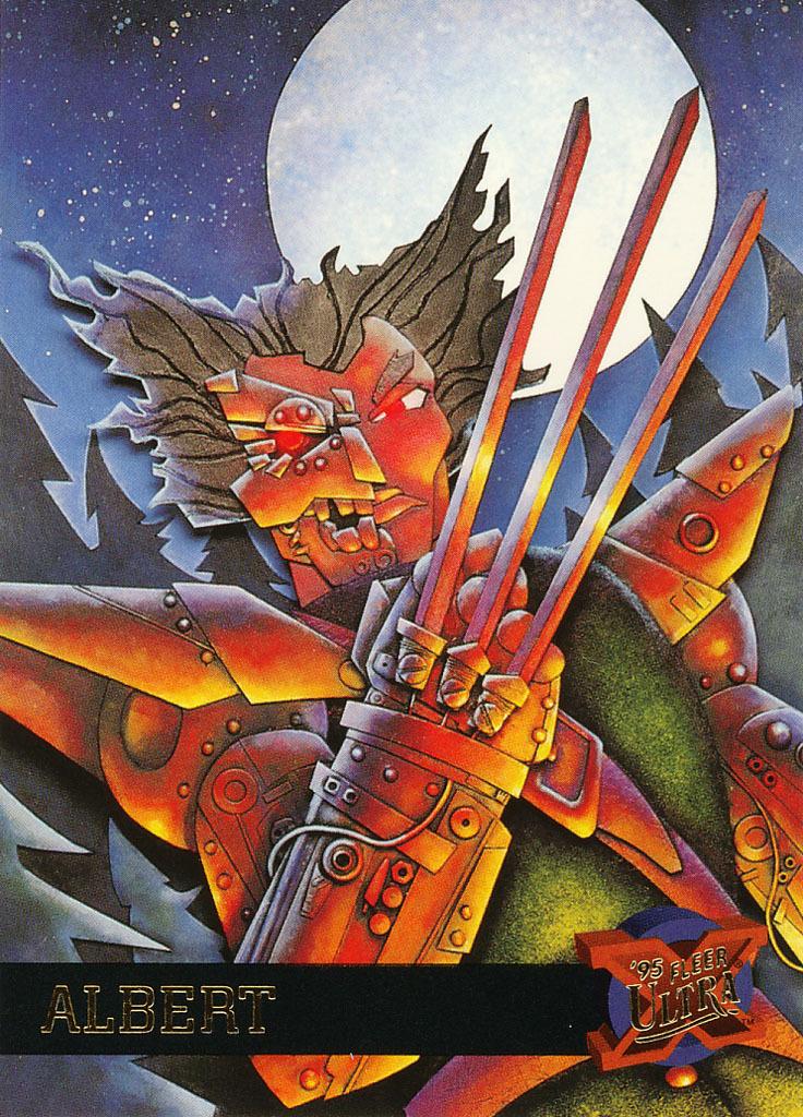 Fleer Ultra X-Men 1995 #1 - Albert