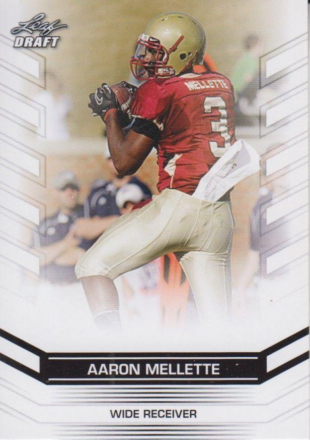 Aaron Mellette 2013 Leaf Draft Card #1