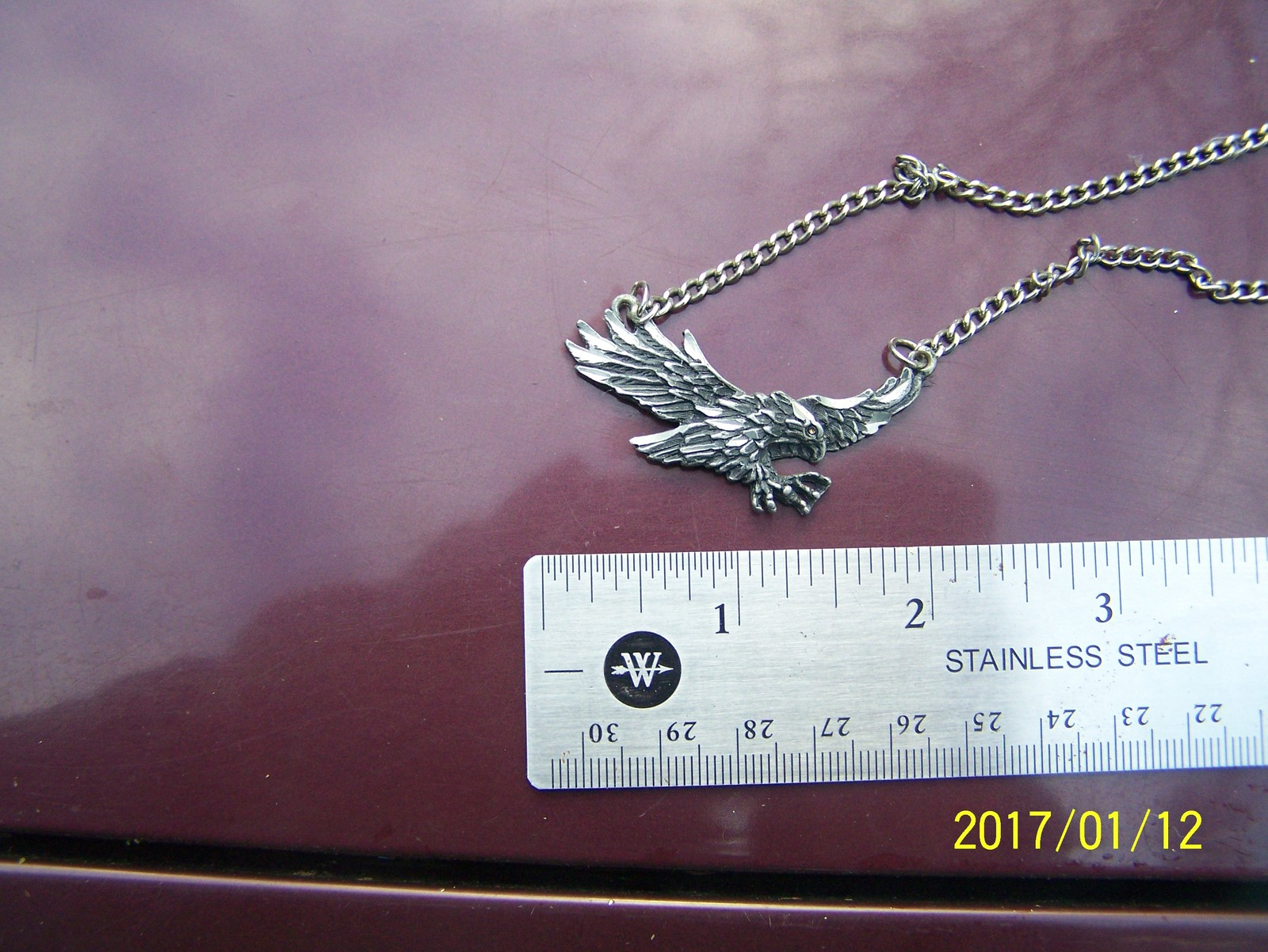 flying Eagle pendant on chain