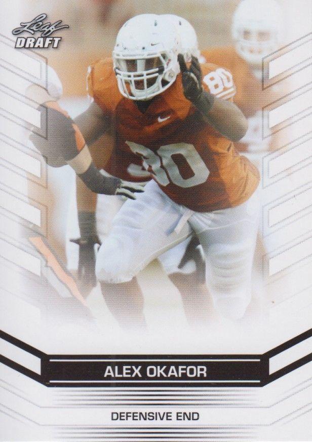 Alex Okafor 2013 Leaf Draft Card #3