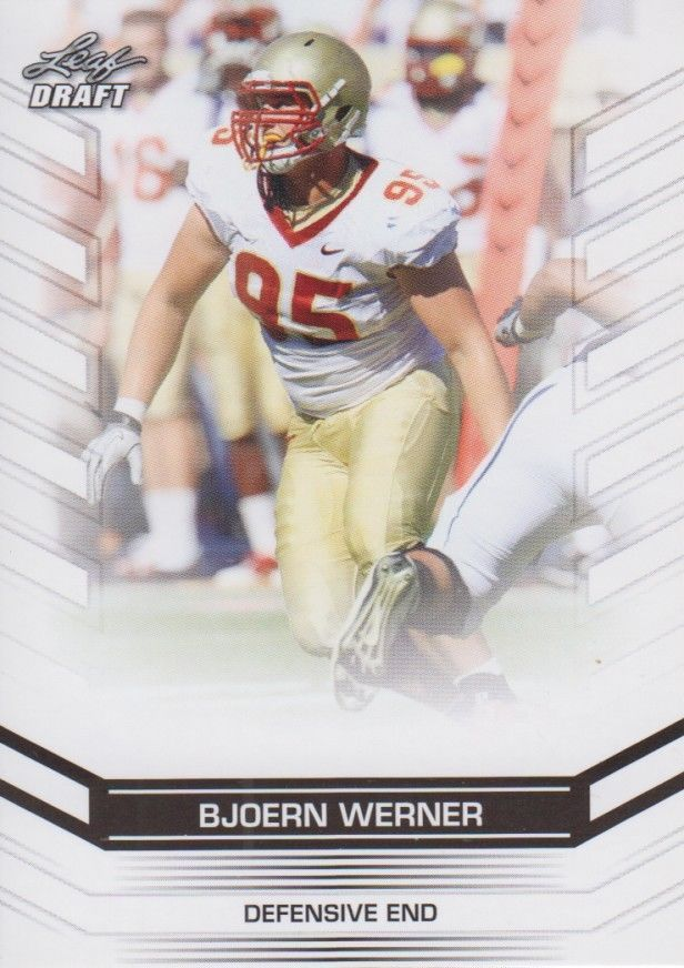 Bjoern Werner 2013 Leaf Draft Card #6