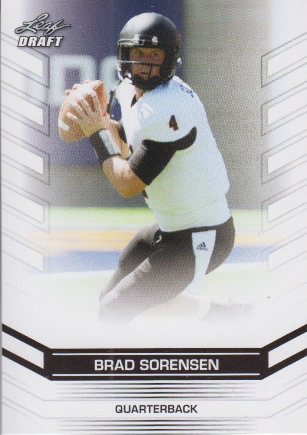 Brad Sorensen 2013 Leaf Draft Card #7