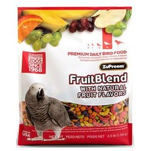 Zupreem FruitBlend Parrot Conure Medium Large 3.5 LB - $15.49