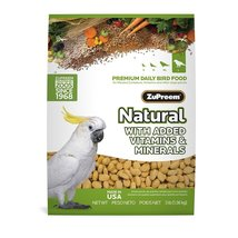 Zupreem Natural for Large Birds (3 lb) - $13.99