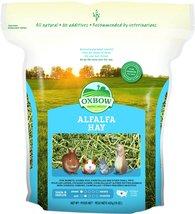 Oxbow Animal Health Alfalfa Hay for Pets, 15-Ounce - $4.39