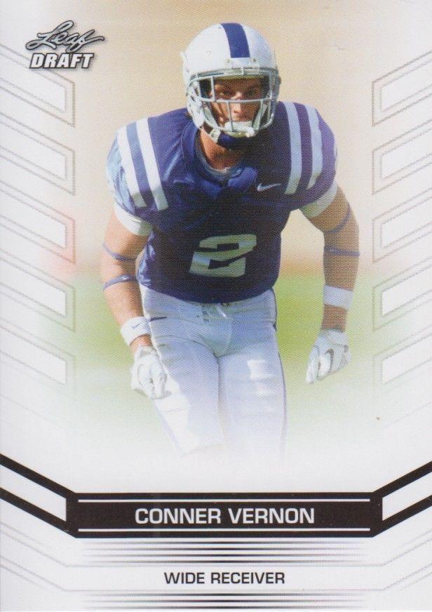 Conner Vernon 2013 Leaf Draft Card #11