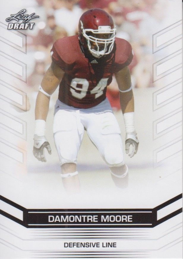 Damontre Moore 2013 Leaf Draft Card #14