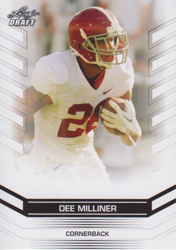 Dee Milliner 2013 Leaf Draft Card #16