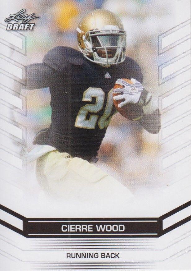 Cierre Wood 2013 Leaf Draft Card #8