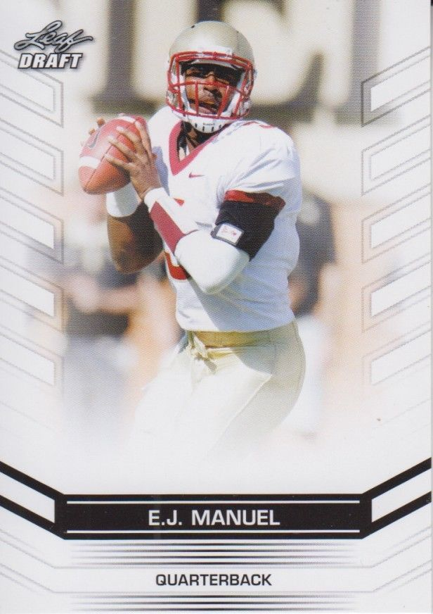 EJ Manuel 2013 Leaf Draft Card #20