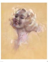 Art Nouveau/Art Deco/Rolf Armstrong/Dream Girl/Marilyn like Poster/17x22... - $19.99