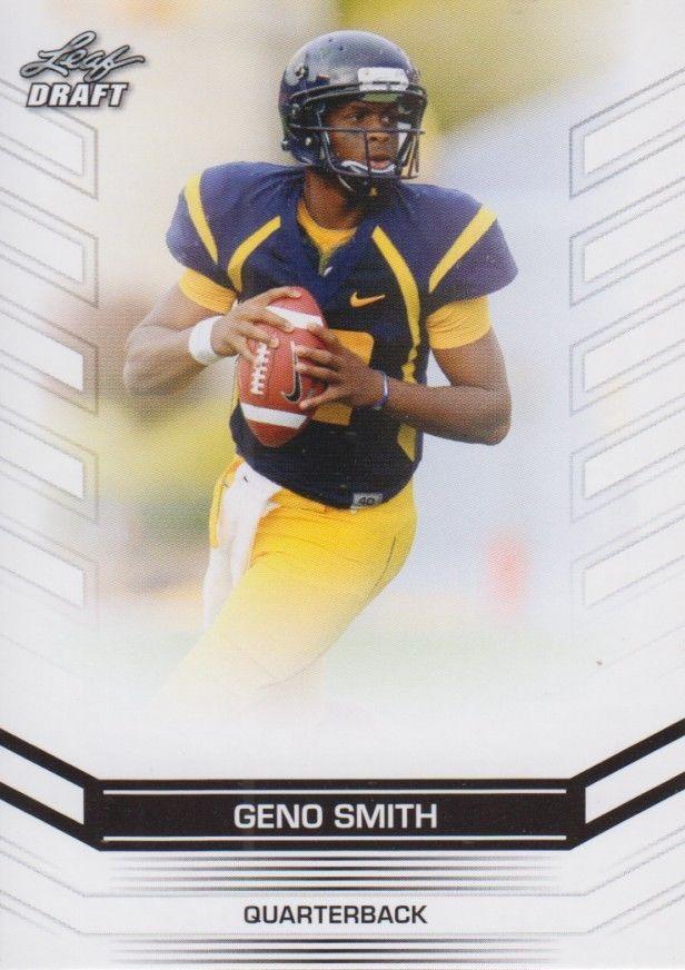 Geno Smith 2013 Leaf Draft Card #23