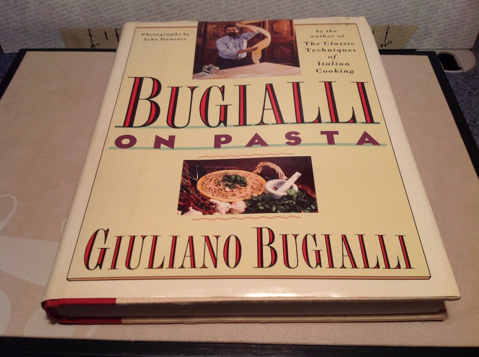 Bugialli On Pasta Book by Giuliano Bugialli