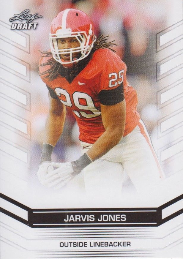 Jarvis Jones 2013 Leaf Draft Card #26