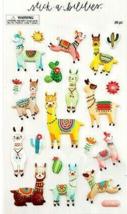 The Paper Studio Stickabilities Llama Puffy Stickers #1983907