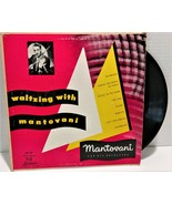 """Waltzing With Mantovani Vintage 10"""" London LB 381 33 Long Playing England - $19.99"""