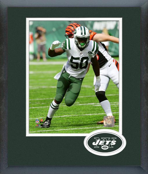 Darron Lee 2016 New York Jets - 11x14 Team Logo Matted/Framed Photo