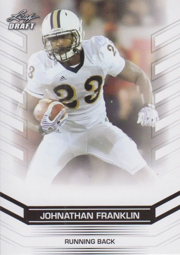 Johnathan Franklin 2013 Leaf Draft Card #29