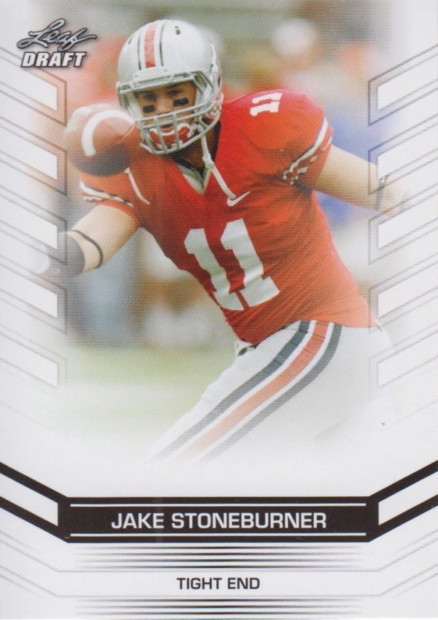 Jake Stoneburner 2013 Leaf Draft Card #25