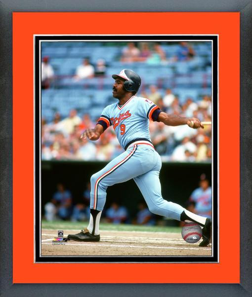 Larry Hisle Baltimore Orioles Circa 1974 -11x14 Matted/Framed Photo