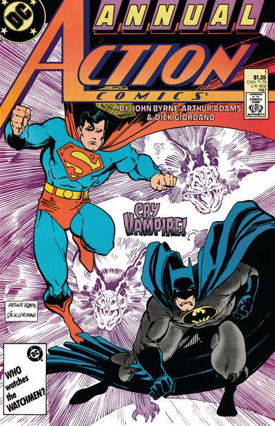 Action comics annual  1