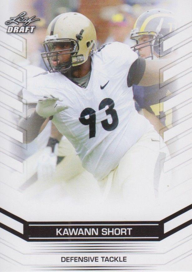 Kawann Short 2013 Leaf Draft Card #36