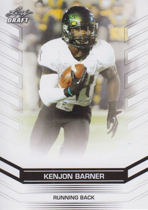 Kenjon Barner 2013 Leaf Draft Card #38
