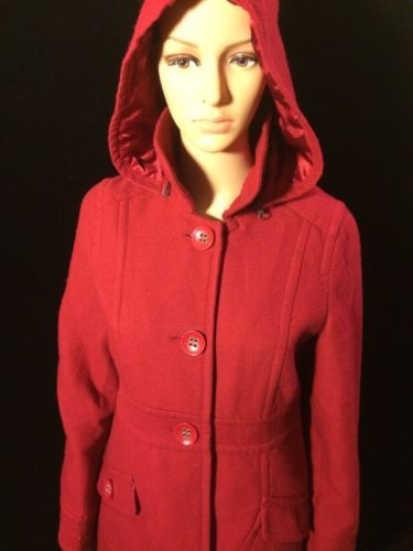 BR Size Large Womens Red Coat Bin #22