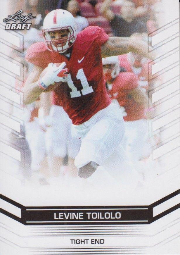 Levine Toilolo 2013 Leaf Draft Card #42