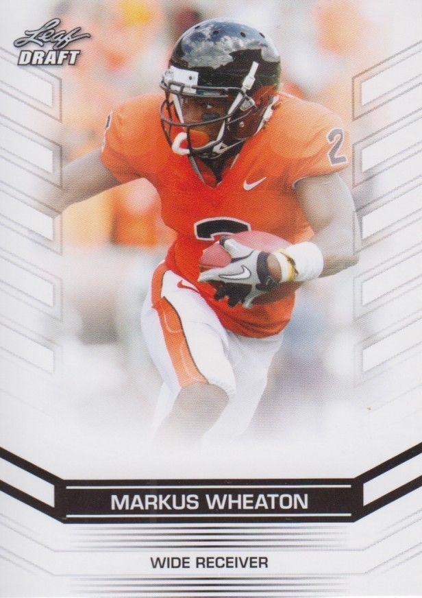Markus Wheaton 2013 Leaf Draft Card #47