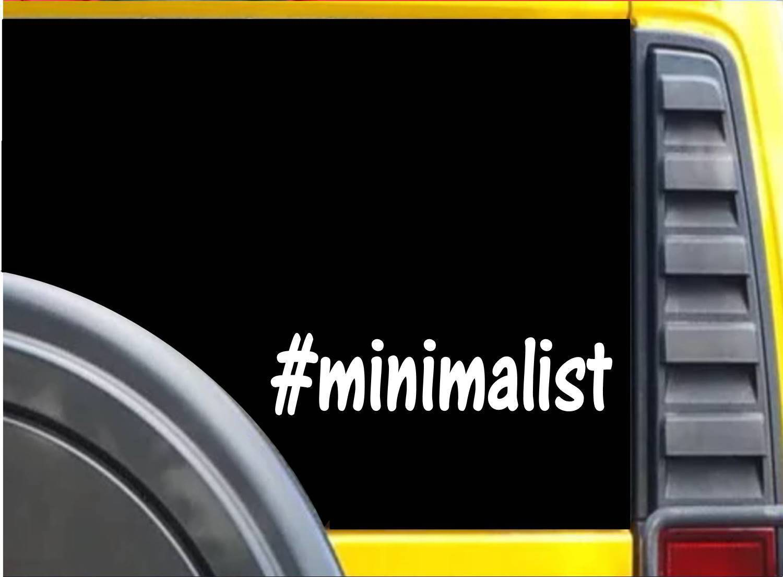 #Minimalist K615 8 inch Sticker decal